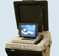 ES&S DS200 Ballot Scanner
